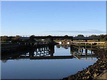 TQ0004 : Ford Railway Bridge by Simon Carey