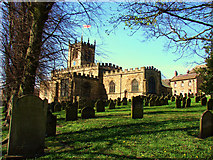 NZ0516 : The Church in Barnard Castle by A Chilton