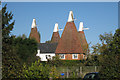 TQ7840 : Knoxbridge Oast House / Honeywell Oast, Knoxbridge, Frittenden, Kent by Oast House Archive