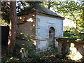 TQ2564 : The Gibson Mausoleum in St Nicholas' churchyard by Stephen Craven