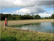 TM3995 : View from the reservoir dam by Evelyn Simak