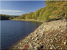 SE0118 : Ryburn Reservoir by Paul Harrop