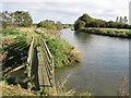 TR2863 : Footbridge beside the River Stour by David Anstiss
