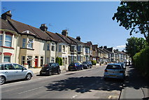 TQ7668 : Terraced housing, Marlborough Rd by N Chadwick