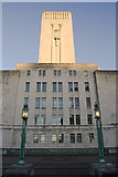 SJ3490 : George's Dock Ventilation and Control Station, Liverpool by Paul Harrop