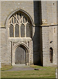 ST3049 : St Andrew's church west door by Neil Owen