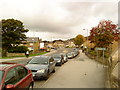 SE1040 : Road across the new dual carriageway in Crossflats by Andrew Abbott