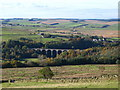 NY6857 : The valley of the River South Tyne around Lambley by Mike Quinn