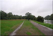 TQ1773 : Thames Path at Ham House by N Chadwick