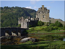 NG8825 : Eilean Donan Castle by John Lord
