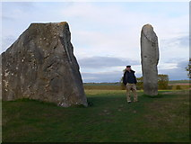 SU1070 : Avebury Stones by Eirian Evans