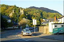 SH5638 : A497, Porthmadog, Gwynedd by Peter Trimming