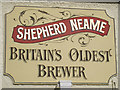 TQ8209 : Shepherd Neame sign by Oast House Archive
