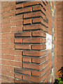 TQ8209 : Brick Quoin detail, Rother House by Oast House Archive