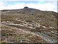 NM6736 : Summit cairn on Dun da Ghaoithe by wrobison