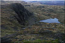 NY2807 : Pavey Ark and Stickle Tarn by michael ely