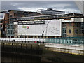 NZ2563 : Under wraps on the Tyne by Michael Trolove