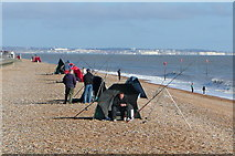 TR3752 : Fishing at Deal by Graham Horn