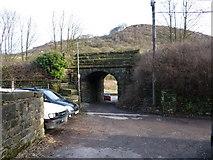 SD9726 : Railway bridge over Under Bank Avenue by Alexander P Kapp