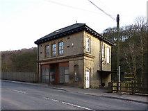 SD9726 : Former Co-op on Burnley Road by Alexander P Kapp