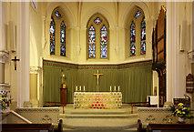 TQ3283 : St James, Prebend Street, London N1 - Samctuary by John Salmon