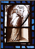 TQ3283 : St James, Prebend Street, London N1 - Window by John Salmon