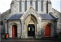 TQ3283 : St James, Prebend Street, London N1 - West porch by John Salmon
