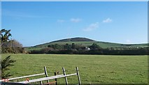 SH1728 : View north-eastwards past Penna'r Cerrig house with Mynydd Ystum in the background by Eric Jones