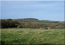 SH1728 : Farmland on the east side of Afon Cyllyfelin by Eric Jones