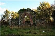 S7031 : Derelict Entrance by kevin higgins