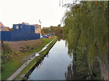 SJ9495 : Peak Forest Canal from Manchester Road by Gerald England