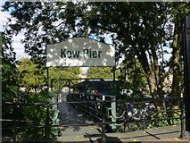 TQ1977 : Kew Pier by Eirian Evans
