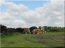 TM5284 : Farm implements awaiting use by Adrian S Pye