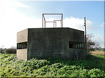 TM5284 : Large hexagonal pillbox at Benacre by Adrian S Pye