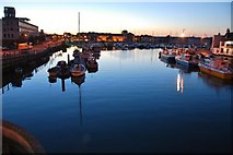 SY6778 : Weymouth: Marina from the Town Bridge by Mr Eugene Birchall