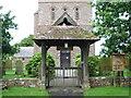 NY3745 : All Saints Church, Raughton Head, Lych gate by Alexander P Kapp