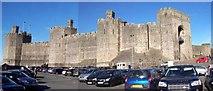 SH4762 : Caernarfon Castle by Len Williams