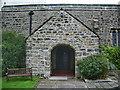NY6208 : All Saints Church, Orton, Porch by Alexander P Kapp