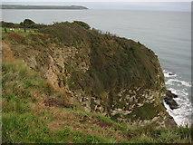 SX0551 : Headland below Carlyon Bay Hotel by Philip Halling