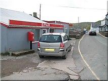 SH1726 : Siop Spar shop, Aberdaron by Eric Jones