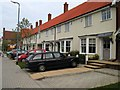 TL7421 : Houses at Queenborough Lane, Great Notley by John Brightley