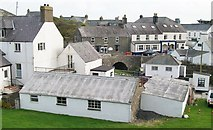 SH1726 : The commercial core of the sea side village of Aberdaron by Eric Jones