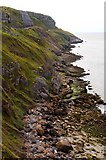 SH7783 : The coastline on the Great Orme by Steve Daniels