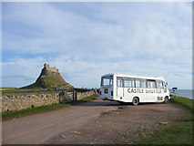 NU1341 : Castle Shuttle, Lindisfarne, Holy Island, Northumberland by Christine Matthews