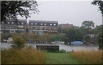 TQ1667 : Riverside buildings, Thames Ditton by N Chadwick