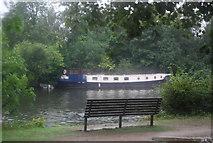 TQ1667 : Narrowboat, River Thames by N Chadwick