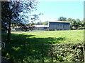 ST3793 : Northern edge of farm buildings, Garn-fawr by Jaggery