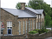 SK3875 : Old Whittington - Mary Swanwick School by Dave Bevis