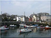 SC2667 : Inner harbour at Castletown by Colin Park