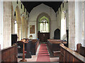 TG0207 : St Margaret's church in Garveston - view west by Evelyn Simak